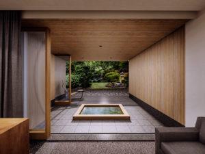 直島旅館 ろ霞 露天風呂付き客室のスイートルームとなります